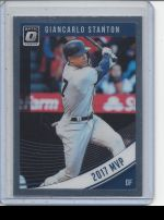 2018 Donruss Optic Giancarlo Stanton