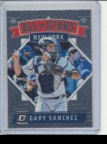 2018 Donruss Optic Gary Sanchez