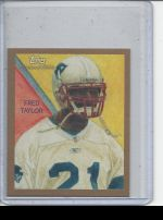2009 Topps National Chicle Fred Taylor