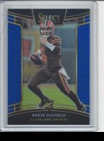 2018 Panini Select Baker Mayfield