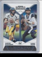 2019 Panini Contenders Draft Picks Jared Goff, Aaron Rodgers