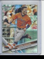2017 Topps Chrome Jose Altuve