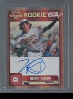 2011 Panini Contenders Henry Owens