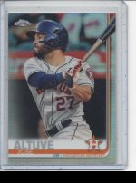 2019 Topps Chrome Jose Altuve