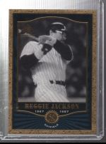 2001 SP Legendary Cuts Reggie Jackson