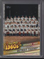 2020 Topps Detroit Tigers Team Card