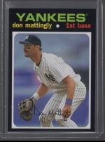 2020 Topps Series 1 Don Mattingly