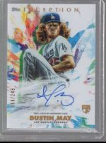 2020 Topps Inception Legends Material Printing Plate Magenta Dustin May<br />Card not available