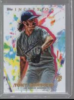 2020 Topps Inception Legends Material Printing Plate Magenta Tony Gonsolin<br />Card not available
