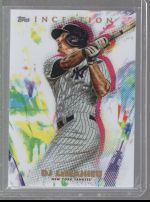 2020 Topps Inception Legends Material Printing Plate Magenta DJ LeMahieu<br />Card not available
