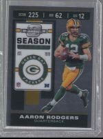 2019 Panini Contenders Optic   Aaron Rodgers<br />Card Owner: Zach Martino