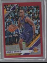 2019-20 Donruss Optic Legends Material Printing Plate Magenta Rajon Rondo<br />Card not available