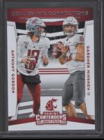 2020 Panini Contenders Draft Picks Gardner Minshew II, Anthony Gordon