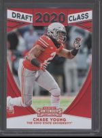 2020 Panini Contenders Draft Picks Chase Young
