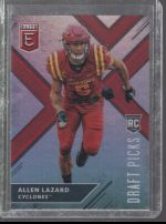 2018 Panini Elite Draft Picks Allen Lazard