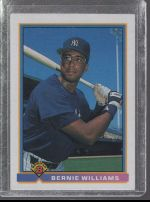1991 Bowman Bernie Williams