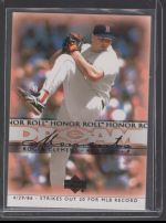 2002 Upper Deck Honor Roll Roger Clemens