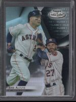 2018 Topps Gold Label Jose Altuve