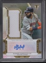 2018 Topps Triple Threads Marwin Gonzalez
