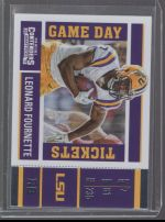 2017 Panini Contenders Draft Picks Leonard Fournette