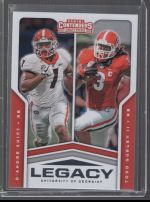 2020 Panini Contenders Draft Picks Todd Gurley II, DAndre Swift