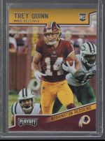 2018 Panini Playoff Trey Quinn