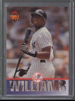 1994 Triple Play Bernie Williams