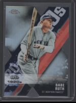 2020 Topps Chrome Babe Ruth