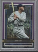2020 Topps Museum Collection Babe Ruth