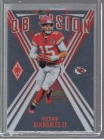2019 Panini Phoenix Legends Material Printing Plate Magenta Patrick Mahomes II<br />Card not available