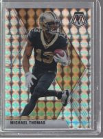 2020 Panini Mosaic Legends Material Printing Plate Magenta Michael Thomas<br />Card Owner: Leslie Allyn Westbrook