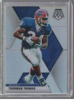 2020 Panini Mosaic Legends Material Printing Plate Magenta Thurman Thomas<br />Card Owner: Jacob Teasley