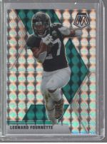 2020 Panini Mosaic Legends Material Printing Plate Magenta Leonard Fournette<br />Card Owner: Zachary Belvin