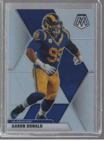 2020 Panini Mosaic Legends Material Printing Plate Magenta Aaron Donald<br />Card not available