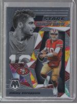 2020 Panini Mosaic Legends Material Printing Plate Magenta Jimmy Garoppolo<br />Card Owner: Nick Cirksena