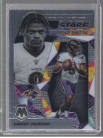 2020 Panini Mosaic Legends Material Printing Plate Magenta Lamar Jackson<br />Card not available