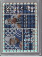 2020 Panini Mosaic Legends Material Printing Plate Magenta Peyton Manning<br />Card not available