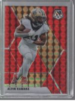 2020 Panini Mosaic Legends Material Printing Plate Magenta Alvin Kamara<br />Card not available
