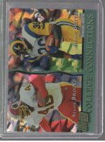 1993 Pro Set Jerome Bettis, Reggie Brooks