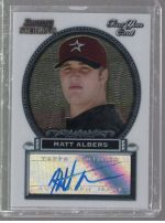 2005 Bowman Sterling Matt Albers