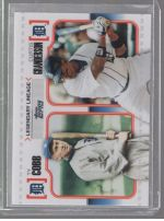 2010 Topps Curtis Granderson, Ty Cobb