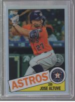 2020 Topps Chrome Jose Altuve