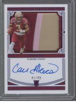 2020 Panini National Treasures Collegiate Cam Akers