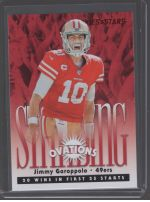 2020 Panini Rookies & Stars Legends Material Printing Plate Magenta Jimmy Garoppolo<br />Card Owner: Jason Hillyer