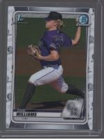 2020 Bowman Draft Case Williams