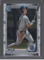 2020 Bowman Draft Bobby Witt Jr