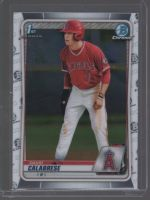 2020 Bowman Draft David Calabrese