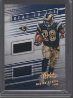 2016 Panini Absolute Marshall Faulk