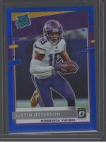 2020 Donruss Optic Justin Jefferson