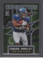 2020 Donruss Optic Legends Material Printing Plate Magenta Saquon Barkley<br />Card Owner: Gary Wayne Allen
